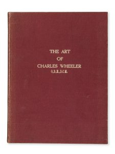 The art of Charles Wheeler, O.B.E, D.C.M. (deluxe edition)