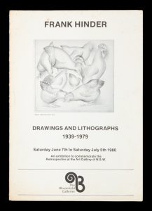 Frank Hinder: Drawings and Lithographs 1939-1979