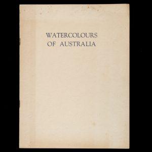 Watercolours of Australia by Eric StephensenSTEPHENSON, Eric# 14428