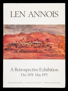 Len Annois. A Retrospective Exhibition Dec. 1974 - May 1975[ANNOIS, Len]# 14423