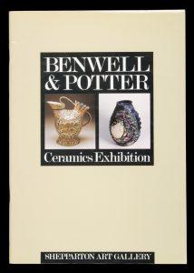 Benwell & Potter Ceramics Exhibition[BENWELL, Stephen; POTTER, David]# 14410