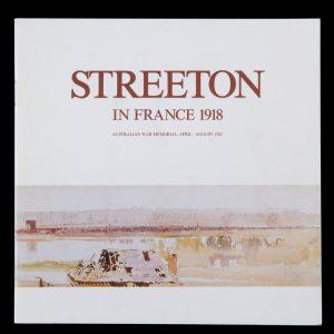 Streeton in France 1918[STREETON, Arthur]# 14398