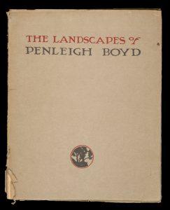 The landscapes of Penleigh BoydBOYD, Penleigh# 14325