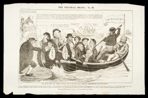 The ministers and their cronies off to Botany Bay, and the Dorchester men returning.