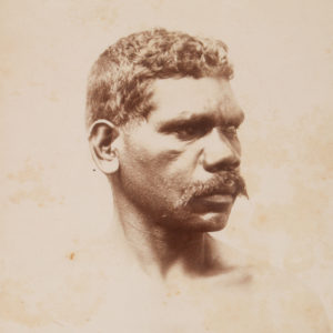 # 15063  KERRY, Charles (1857-1928)  Aboriginal warrior, Bellinger River.  $225.00