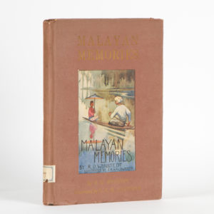 # 15218  WINSTEDT, R. O.  Malayan memories