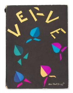 Verve : the French review of art. No. 8, vol. 2. September - November 1940.TÉRIADE, E. [ELEFTHERIADES, Efstratios]# 14888