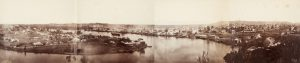 [PHOTOGRAPHIC PANORAMA] Brisbane from Bowen Terrace in 4 pieces.