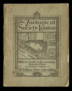 [THYLACINE] Official Guide to the Zoological Society of London.