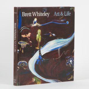 Brett Whiteley : art & life (hardcover)[WHITELEY]. PEARCE, Barry, ROBERTSON, Bryan and WHITELEY, Wendy.# 14930