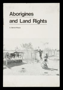 Aborigines and land rightsPITTOCK, A. Barrie# 14910