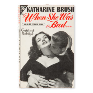 # 15291  BRUSH, Katharine  [PULP] When she was bad