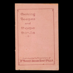 # 14982  W.H. COMSTOCK CO.  Cooking recipes and home hints
