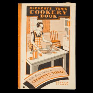 # 14992  CLEMENTS TONIC LTD.  Clements Tonic cookery book