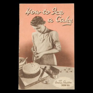 # 14994  ANSON, Anne  How to ice a cake : let Anne Anson show you