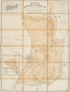 # 15253  Mapa de la Republica del Paraguay