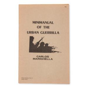 # 15207  MARIGHELLA, Carlos  Urban guerilla minimanual.
