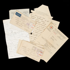 # 15578  ALBERTIN, Almerino, Capitano Maggiore  An archive of letters and documents relating to an Italian internee at Cowra POW Camp, New South Wales, 1942-46