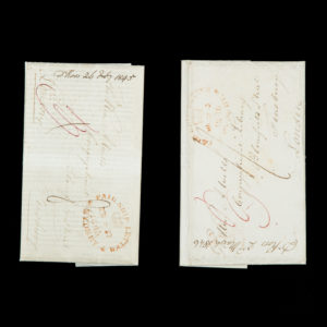 # 15517  ROSS, Robert (1792-1862)  Manuscript letters of Robert Ross, Congregational minister, Sydney, 1845-46; including an unrecorded ephemeral printing made by the Pitt Street Congregational Church.