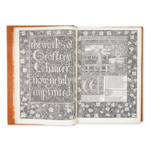 # 15573  MORRIS, William (1834 - 1896)  The Works of Geoffrey Chaucer, now newly imprinted.  $125,000.00 AUD