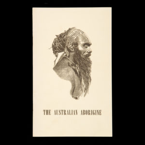# 15419  BARRETT, Charles  The Australian Aborigine