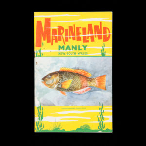 """# 15421  MARINELAND; CAYLEY, Neville, 1886-1950 (illustrator)  The """"Oceanarium"""" at Marineland, Manly, New South Wales : a guide to the fishes to be found near Sydney and on view in the Oceanarium."""