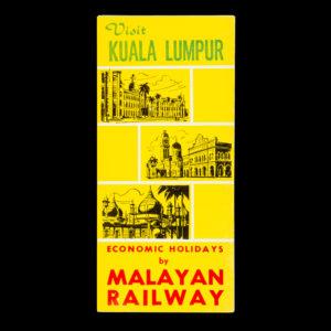 # 15378  Visit Kuala Lumpur. Economic holidays by Malayan Railway.