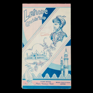# 15383  EKLUND, R.A.  Lahore guide map