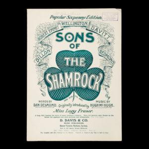 # 15439  McHUGH, Hugh (composer); DESMOND, Dan (lyricist)  [SHEET MUSIC] Sons of the Shamrock (Irish patriotic song)