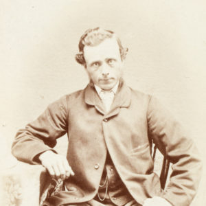 # 15482  SEYMOUR, J. [John T.?]  Photographic portrait of a gentleman, Melbourne, late 1860s