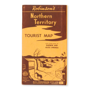 # 15621  Robinson's Northern Territory tourist map.