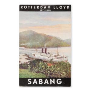 # 15515  ROYAL ROTTERDAM LLOYD  [DUTCH EAST INDIES] Sabang