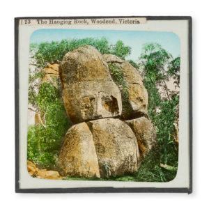 # 15734  Photographer unknown.  The Hanging Rock, Woodend, Victoria