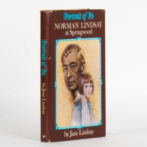 # 15763  LINDSAY, Jane  Portrait of Pa. Norman Lindsay at Springwood