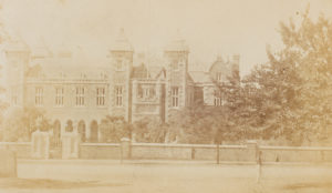 # 15591  Photographer unknown.  View of Government House, Perth, Western Australia, circa 1865