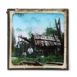 # 15747  CAIRE, Nicholas James (1837-1918)  Settler's hut, Gippsland