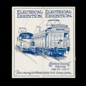 # 15632  VICTORIAN RAILWAYS  Melbourne's electric railway system.