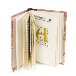 # 15677  WEYGAND, James Lamar; WEYGAND, Joy  [MINIATURE BOOK] Ex libris minimus