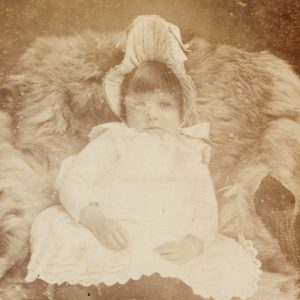 # 15797  Photographer unknown.  Photographic portrait of the young Annette Kellerman, Marrickville, 1888.