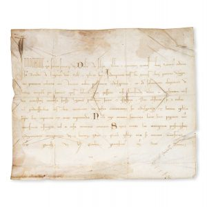 # 15615  Papal bull of Innocent IV dated 12 September 1252