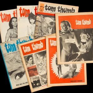 # 15658  HOWARD, Paul; BARWICK, Rusty; BAKER, Bryan; SNUCKINS, S.P.; RUSSELL-CLARKE, Peter; TANDBERG, RON  [MELBOURNE; SATIRE; EROTICA] Tom Thumb : nos. 2; 4; 5; 7; 10; 11; 16, 1965-67. (Copy)