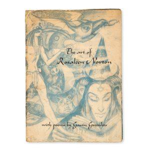 # 15486  NORTON, Rosaleen, 1917-1979; GREENLEES, Gavin  The art of Rosaleen Norton. With poems by Gavin Greenlees (the poet's proof copy)