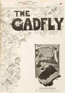 # 15691  C.J. DENNIS  [RUBY LINDSAY; WILL DYSON] The Gadfly : a complete run of volume one in 52 issues