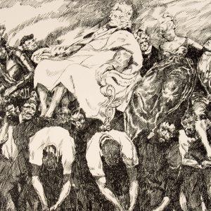 # 15835  SCHARF, Theo (1899-1987)  Europa : ein Zyklus von 14 Steinzeichnungen
