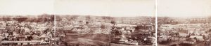 # 15062  IMPERIAL PHOTOGRAPHIC COMPANY [METCALFE, Daniel F.]  [PHOTOGRAPHIC PANORAMA] Brisbane from Observatory in 4 pieces.