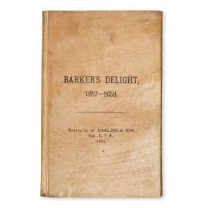 # 15572  BARKER, Thomas  Barker's delight : or the art of angling