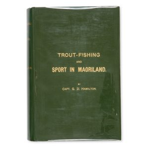 # 15569  HAMILTON, Capt. G. D.  Trout-fishing and sport in Maoriland