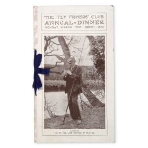 # 15552  [Fly Fishers' Club]  The Fly Fishers' Club Annual Dinner : Monday, March the Ninth 1908