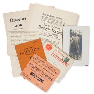 # 16037  MARINETTI, Filippo Tommaso, 1876-1944; RUSSOLO, Luigi, 1885-1947; BOCCIONI, Umberto, 1882-1916, et al.