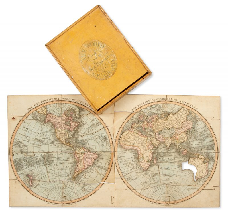 The world dissected upon the best principles to teach youth geography.